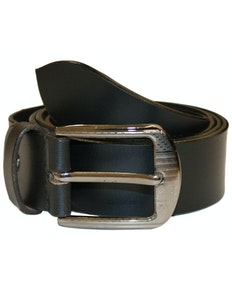 Lewis Leather Belt Black