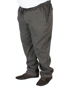 KAM Casual Jog Bottoms Charcoal