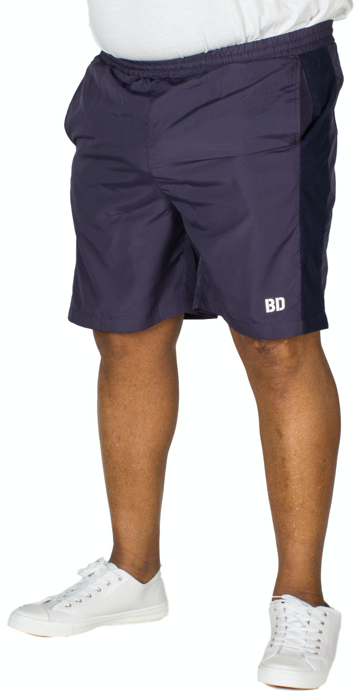 Bigdude Mesh Panel Gym Shorts Navy