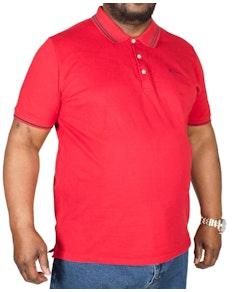 Ben Sherman Script Tipped Polo Shirt Red