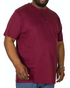 Bigdude Grandad T-Shirt Burgundy