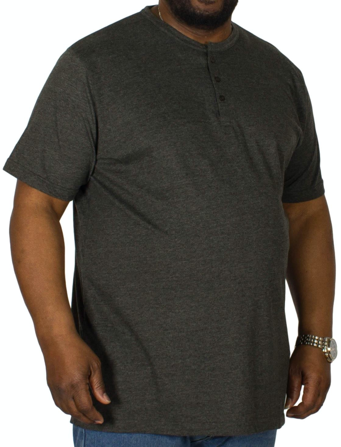 Bigdude Grandad T-Shirt Charcoal Tall
