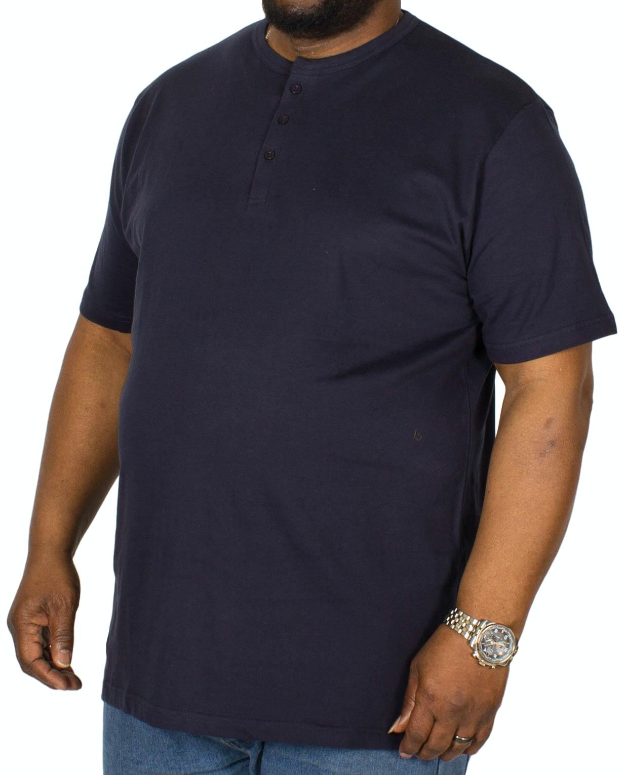Bigdude Grandad T-Shirt Navy Tall