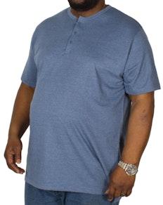 Bigdude Grandad T-Shirt Denim Marl