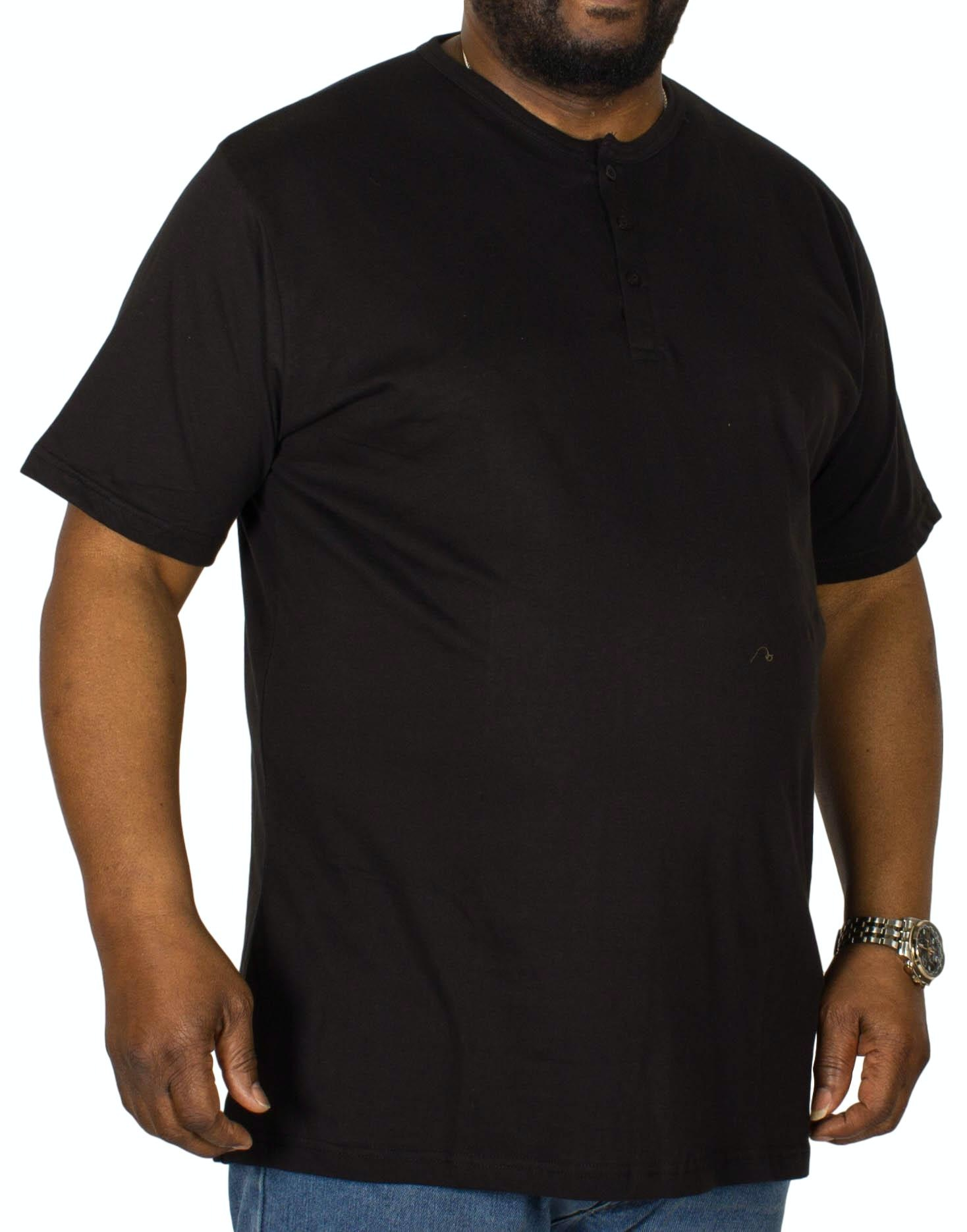 Bigdude Grandad T-Shirt Black Tall