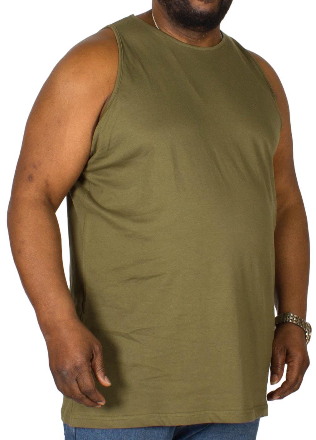 Bigdude Plain Vest Olive