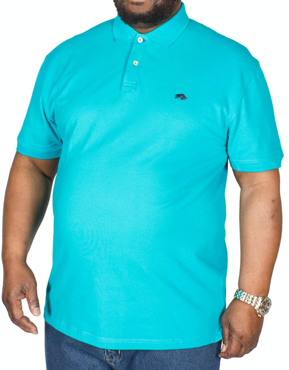 Raging Bull Signature Polo Shirt Teal