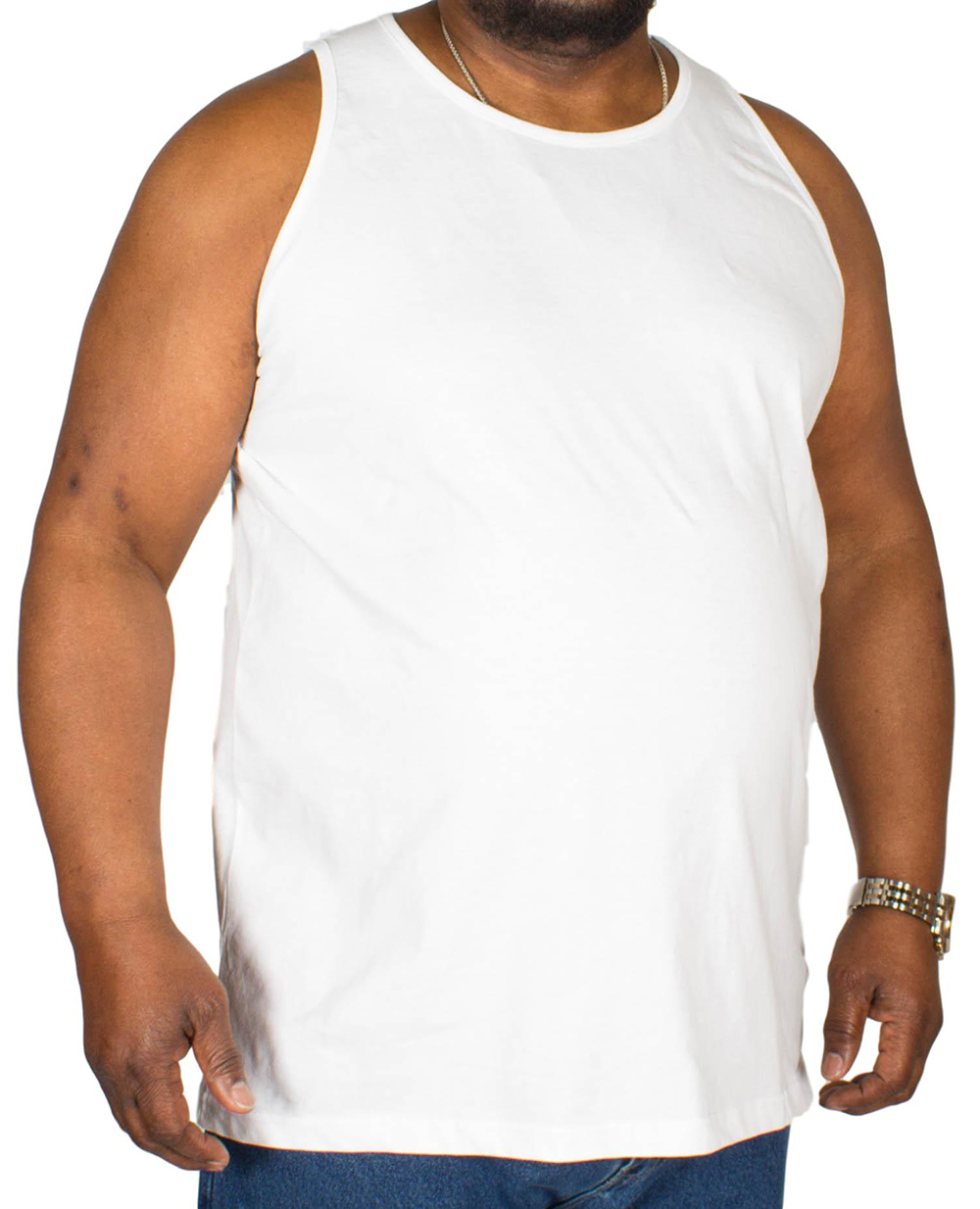 2XL to 6XL Duke D555 tee Mens vest gym top  muscle singlet tank top Sizes