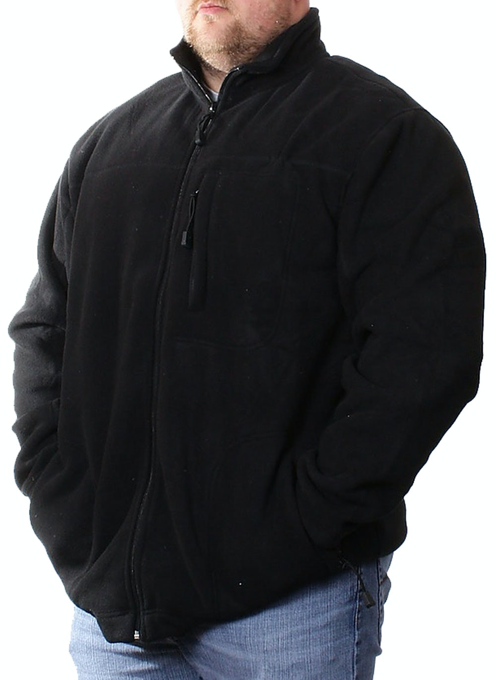Espionage Black Fleece Jacket