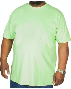 ca91b313984 Bigdude Plain Crew Neck T-Shirt Lime Green