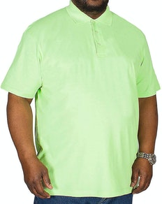 Bigdude Plain Polo Shirt Green Tall