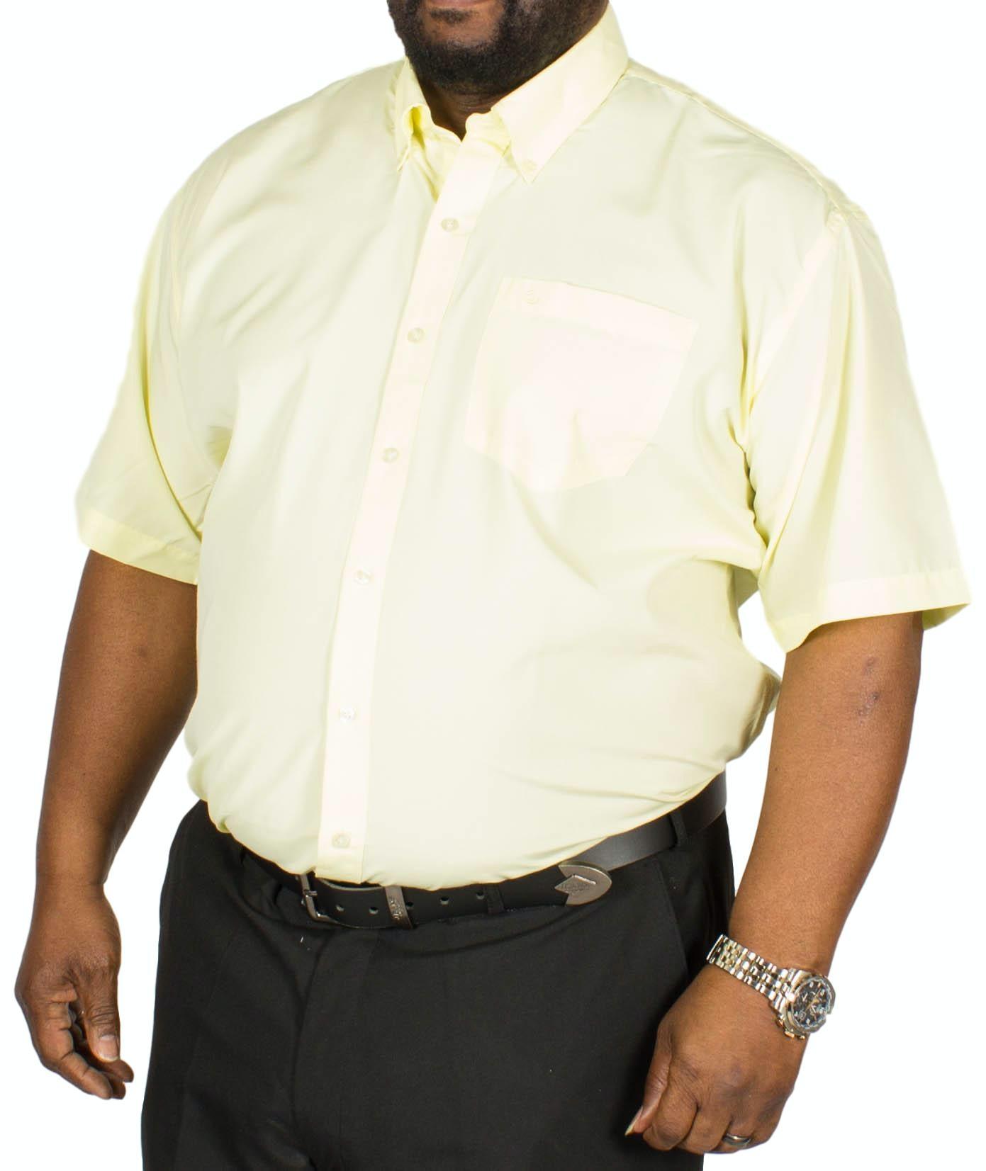 Espionage Plain P.V. Short Sleeve Shirt Lemon