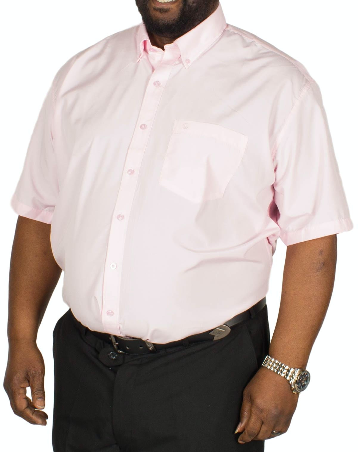Espionage Plain P.V. Short Sleeve Shirt Pink