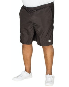 Bigdude Mesh Panel Shorts Black