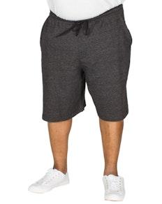 Bigdude Marl Jogger Shorts Black