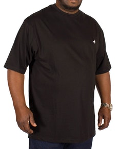 Bigdude Signature Crew Neck T-Shirt Black