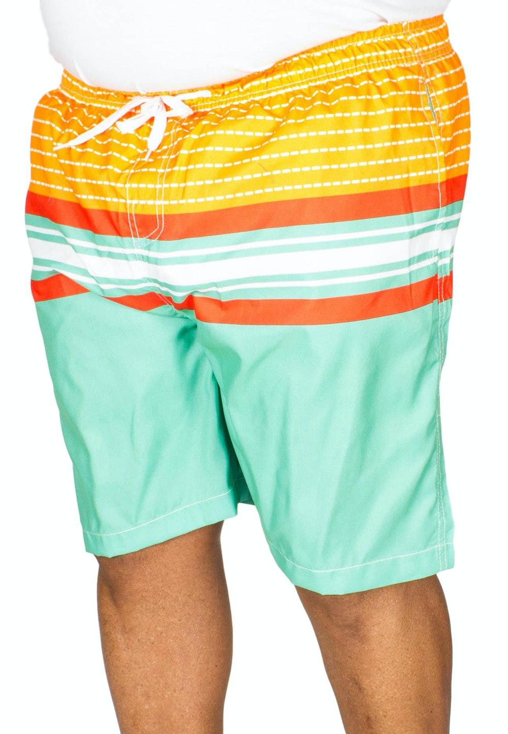 Ed Baxter Concha Striped Swim Shorts Mixed