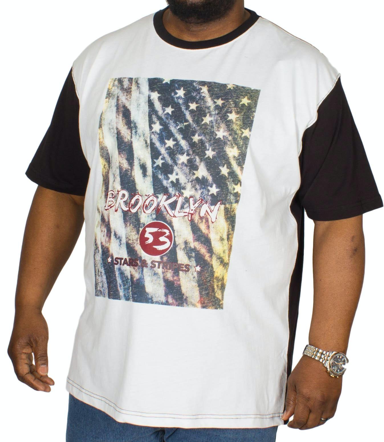 KAM Brooklyn Raglan T-Shirt Black