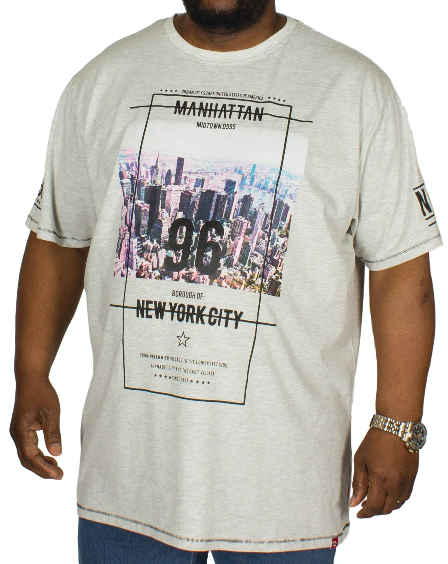 D555 Ethan NYC Print T-Shirt Off White