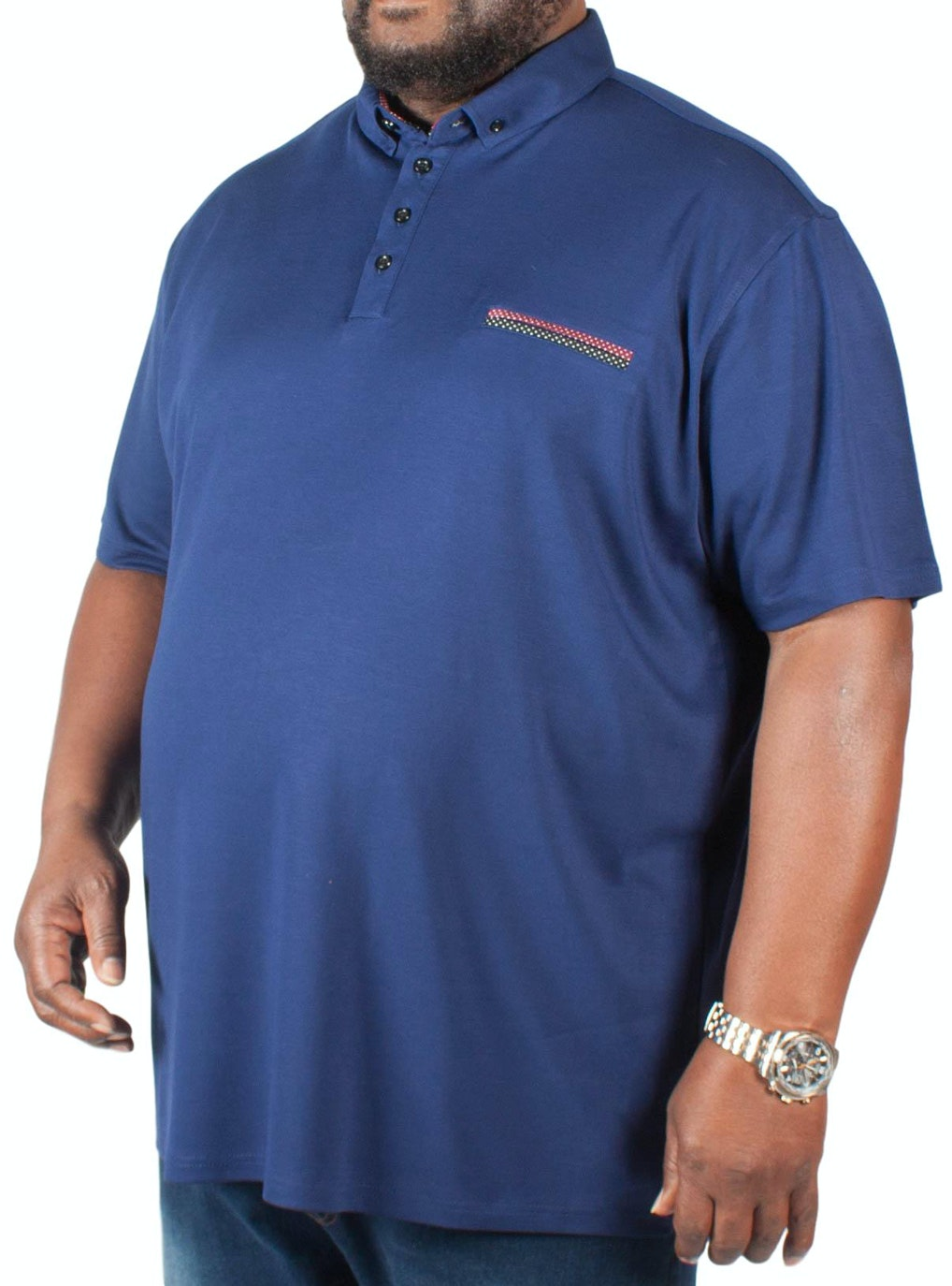 Mish Mash Forbes Polo Shirt Blue