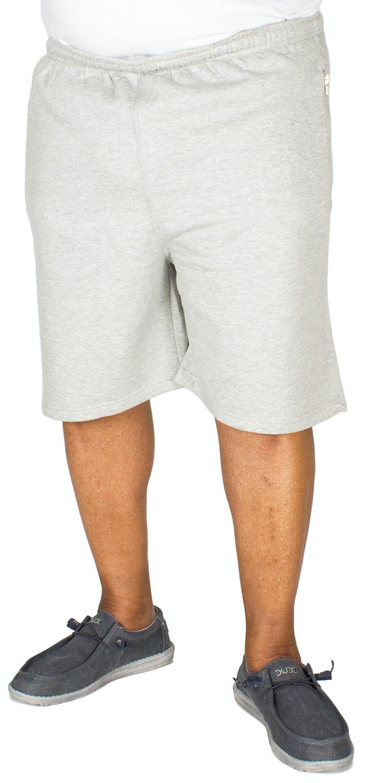 Baum Plain Fleece Shorts Grey