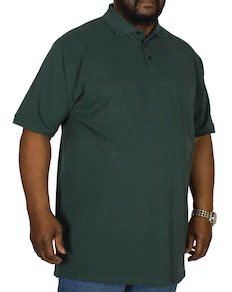 Cotton Valley Plain Polo Shirt Moss Green