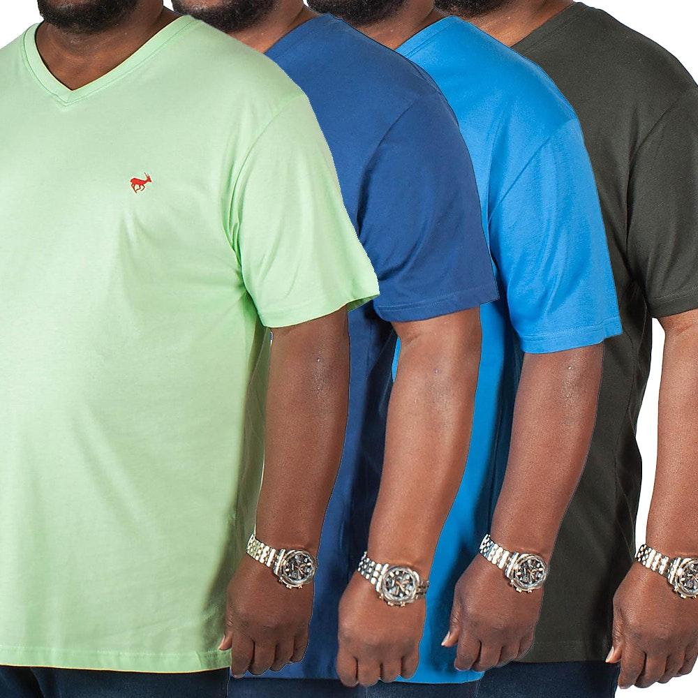 Bigdude Signature V-Neck T-Shirt 4 Pack