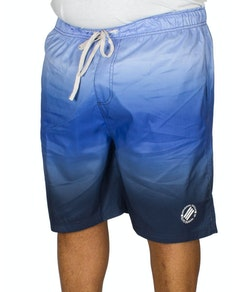 KAM Ombre Swim Shorts Blue