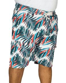 KAM Electric Leaf Swim Shorts
