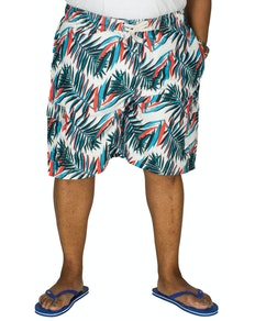 KAM Electric Leaf Swim Shorts
