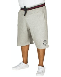 KAM Crown Jogger Shorts Grey