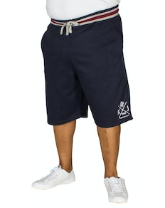 KAM Crown Jogger Shorts Navy