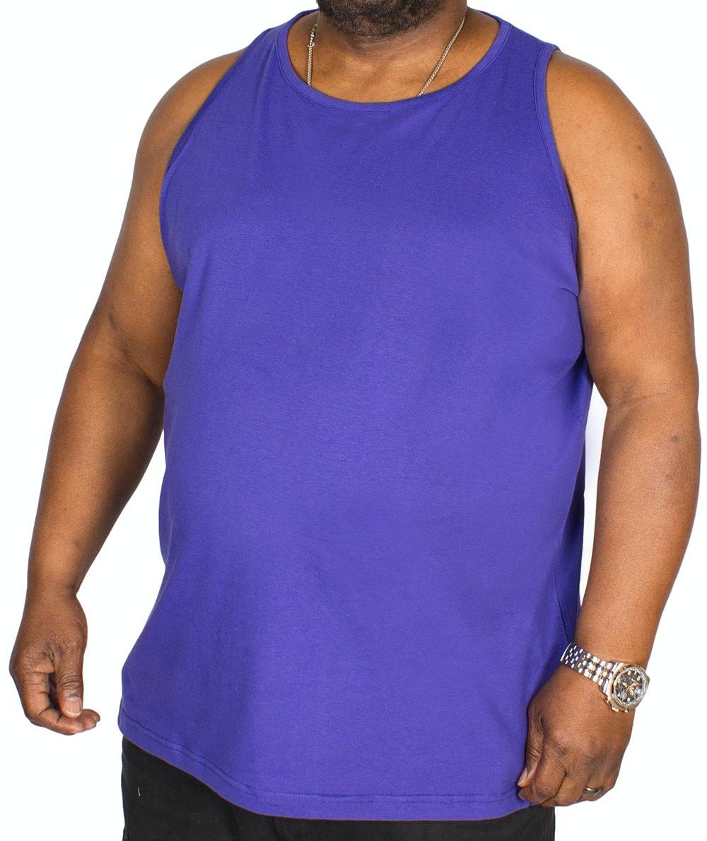 Bigdude Plain Vest Violet