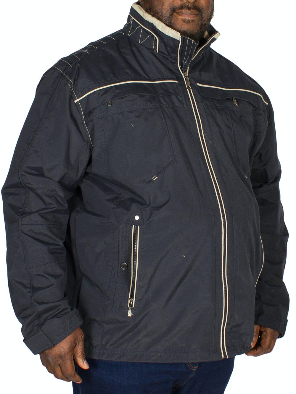 Saxon Nevada Jacket Navy