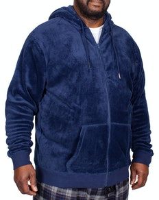 Espionage Fleece Lounge Hoody Blue