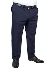 Farah Roachman 4 Way Stretch Twill Trousers Navy
