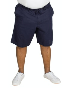 Replika Linen Shorts Navy