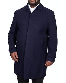 Skopes Hendon Overcoat Navy
