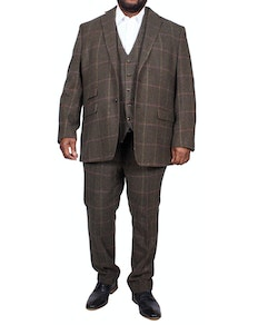 Skopes Morfe 3 Piece Check Suit