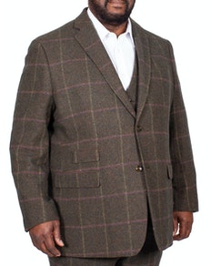 Skopes Morfe Check Jacket Lovat