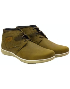 POD Eagle Casual Lace Up Boot Tan