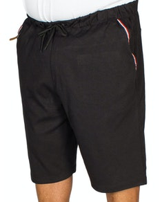 KAM Fashion Jersey Shorts Black