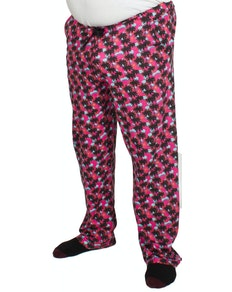 Bigdude Baggy Lounge Trousers Palm Print