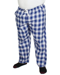 Bigdude Check Lounge Pants Blue/White