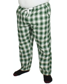 Bigdude Check Lounge Pants Green/White