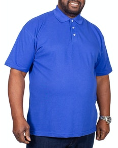 RTY Pique Polo Shirt Royal Blue