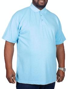 RTY Pique Polo Shirt Sky Blue