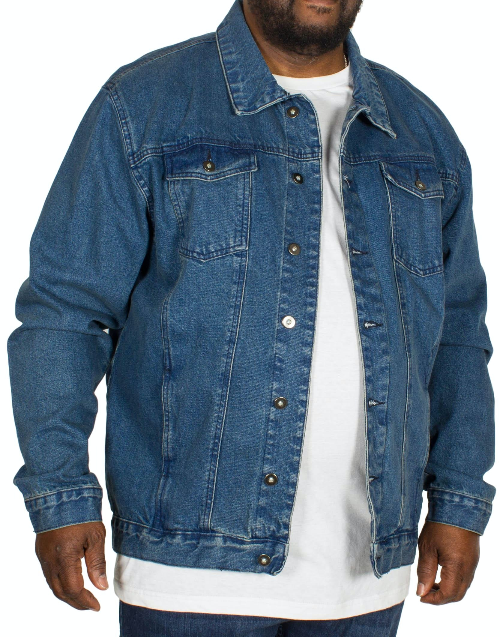 Bigdude Classic Denim Jacket Mid Wash