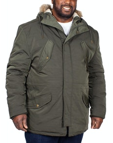 Espionage Parka Coat Olive