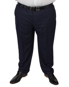 McCarthy Dante Check Trousers Navy